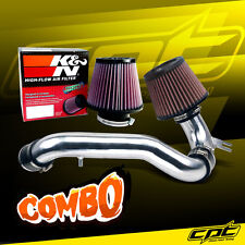 95-99 Dodge Neon SOHC 2.0L 4cyl Polish Cold Air Intake + K&N Air Filter