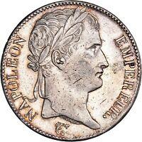 Cent-Jours 5 Francs Napoléon Empereur 1815 Paris Superbe rare Qualité