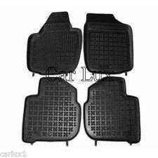 Alfombrillas de goma a medida SEAT Toledo desde 2012- tipo cubeta tapis sol 3D