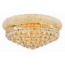 Gold Crystal Ceiling Light Chrome Ceiling Light Modern Flush Mounted