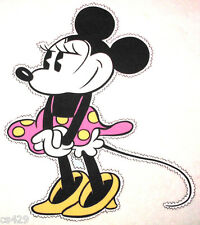 """17.5"""" DISNEY  MOUSE MINNIE CHARACTER WALL SAFE FABRIC DECAL CUT OUT"""