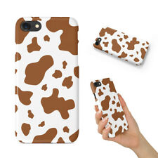 COW SKIN TEXTURE IMAGE BACK HARD CASE COVER FOR APPLE IPHONE