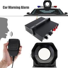 400W 9 Sound Loud Car Alarm Police Fire Warning Siren Horn Speaker PA MIC System