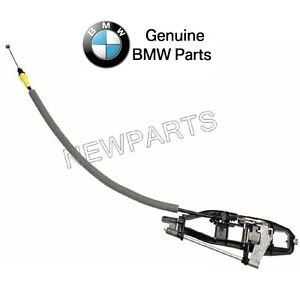 For BMW E46 325i 330i Front Driver Left Outside Door Handle Carrier Genuine