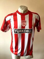 MAGLIA CALCIO SIVASSPOR TURKCELL JERSEY FOOTBALL SHIRT MAILLOT TURKEY VINTAGE
