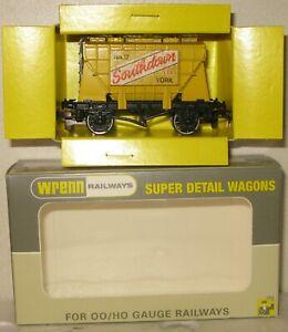Wrenn Railways OO Gauge Trial Wagon Yellow Southdown Covered Hopper