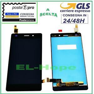 LCD DISPLAY HUAWEI P8 Lite ALE-L21 TOUCH SCREEN SCHERMO MONITOR VETRO NERO