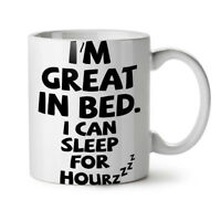 Sleep Nap Lazy Joke Funny NEW White Tea Coffee Mug 11 oz | Wellcoda