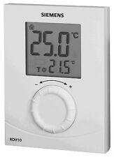 Siemens RDH10-GB Digital Room Thermostat | White