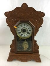 New Haven Clock Co Vintage Mantel Clock Lot 2416