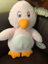 """Small Penguin 12"""" Pink Stuffed Plush Animal Brand New with Tag"""