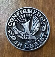 'Confirmed In Christ' Confirmation coin
