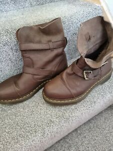 Dr Martens Brown Boots Size 7