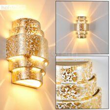 Applique murale Up/Down Lampe de corridor Céramique dorée Lampe de séjour 185423