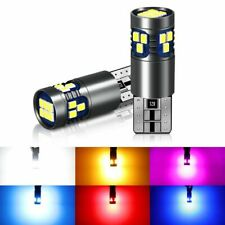 2Pc T10 W5W LED Bulb Super Bright 18SMD 3030 Chips 168 194 Turn Signal Light Car