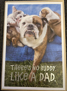 """Hallmark """"There's No Buddy Like a Dad"""" Happy Father's Day Greeting Card"""