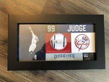 Aaron Judge Game Used Uniform Pants Swatch Yankees ROOKIE HR RECORD MLB Steiner