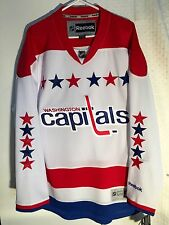 Reebok Premier NHL Jersey Washington Capitals Team White sz M