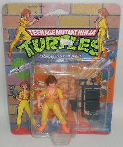 Teenage Mutant Ninja Turtles APRIL O'NEIL Action Figure NEW Playmates TMNT 1990