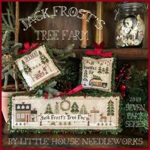 Jack Frost's Tree Farm Part 1 by Little House Needleworks cross stitch pattern