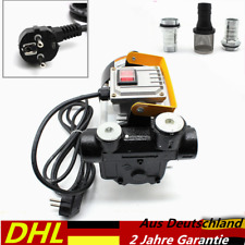 Heizölpumpe Dieselpumpe Selbstansaugend 230Volt 230V Pumpe Ölabsaugpumpe 60L/min