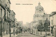 Carte BEZIERS Avenue Saint Saëns