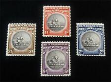 nystamps British Bahamas Stamp # 85-88 Mint Og Nh $37 J15y2046