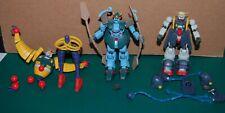 "Mobile Suit Gundam Action Figure 5"" Lot! Jester  BOLT & Viking! Free US ship!"