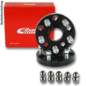 BlackLine Spurverbreiterung 30mm 12119W/_5/_M1415KU43Q 15mm mit Schrauben schwarz 5x100 57,1mm