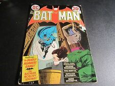 BATMAN #250 AWESOME EARLY CAMEO OF JOKER 1ST BRONZE AGE APPEARANCE!