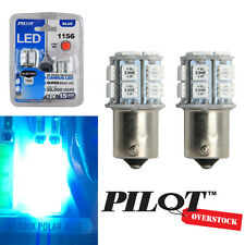 Pilot Automotive 1156 BLUE LED Light Bulbs pack of 2 - US SELLER FAST SHIPPING