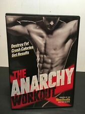 The Anarchy Workout Men's Health Andy Speer (3 DVD Set) Fitness Exercise
