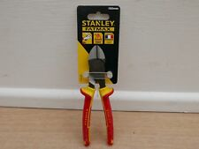NEW DESIGN STANLEY FATMAX 1000V VDE 175MM CABLE WIRE CUTTING PLIER  0 84 003