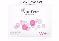 3X Nutriva SOD Superoxide Skin Whitening, Antioxid ants,Reduces Freckles Save