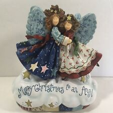 San Francisco Music Box Co Angels Among Us Merry Christmas To An Angel Gift