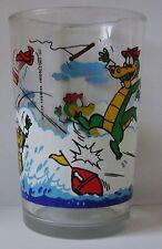 Verre à moutarde glass WALIGATOR 1984 Hanna Barbera. Fait du monoski. VM867
