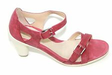 Womens Ecco Sculptured 65 Closed Back Cross Strap Sandals Sz 41/10-10.5 NWOB