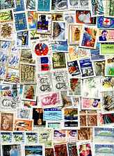 Iceland Lot of 100 Stamps on Paper Kiloware - FREE SHIPPING