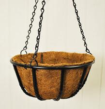 Metal Blacksmith Garden Hanging Basket (30cm) Including Chain by Gardman