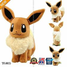 Japanese cute pokemon eevee plush doll anime figure cosplay 30cm 12 pouces TG025