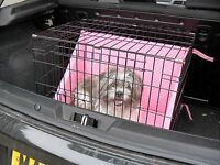 Dog  Crate   Bumper set for comfort whilst crated (crate not included)