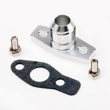 Billet Alumimum Turbo Oil Return Drain Flange -10 AN DSM 4G63T 1G 2G EVO 8 9 10