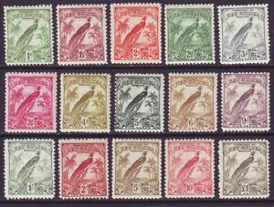 New Guinea 1932 SC 31-45 MH Set