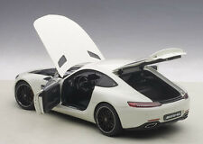 Autoart MERCEDES BENZ AMG GT-S DESIGNO DIAMOND WHITE 1/18 Scale. New! In Stock!