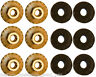 Mustang Rear Quarter Panel Extension Hardware Pack Nuts 1964 1965 1966 64 65 66