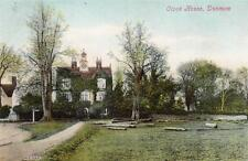 Clock House Dunmow old pc used 1908 Valentines