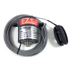 1KW 16,2m Multiband Dipol endgespeist  1:9 Balun EZwire 10m - 160m L:16,2M