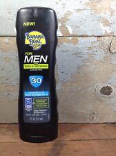 New Banana Boat Men Triple Defense SPF 30 Sunscreen Bottle 6oz UVA/UVB Protect