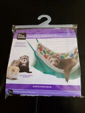 "All Living Things Hanging Hammock Small Animals 14.5"" x 14.5"" Guinea Pig Ferret"
