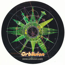 The Orb Orblivion RARE promo sticker '97